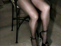 nylons and pantyhose shiny