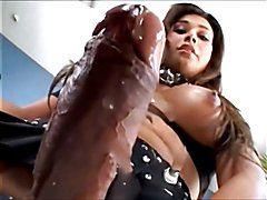TGirls Literally Cumming On Camera
