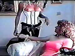 Two vintage trannies have fun