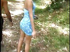 Outdoor trans orgy - clip # 02