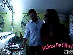 PinkO Shemales Andrea De Oliviera fucking a guy  - clip # 06