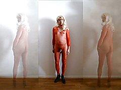 P337 at1 tranny Crossdresser nackt red Nylonbody 7c8a1 naked