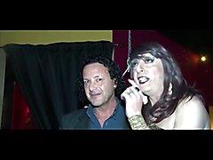 3 italian transvestites with 1 slut and guy