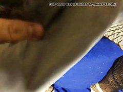 Yum Cum in Law Shannon Victoria Secret Fishnet Pantyhose