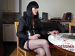 GoddessimA Smokes 120s & CBT.mp4