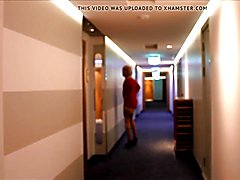 Hotel Hallway Sissy Stroll continues . . .