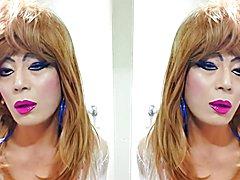 sissy niclo pornstar sexy makeup