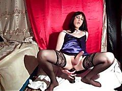 Violetta Duval Slut love big black cocks