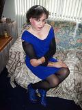 Mistress Ari before bondage w/ sissy