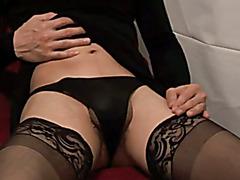 Hot Crossdresser Wets Herself And Cums