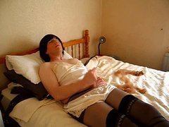 Sues pantyhose playtime