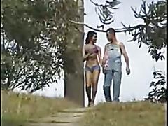 Outdoor anal girlfriend