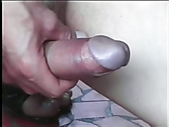 Cute young tranny gets her dick sucked before fucking a thin sissy boy