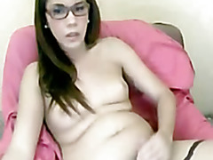 Webcam tranny glasses
