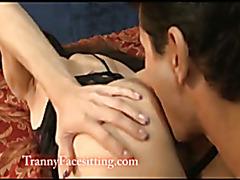 Shemale Asian Amanda Jade Anal Tranny Fucking