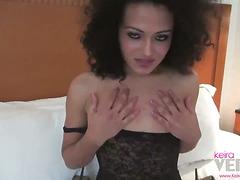 Keira Verga in bed