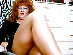 Mature Redhead Crossdresser