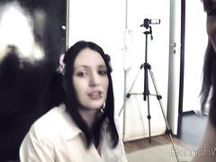 Hannah Warg - Schoolgirl Blowjob