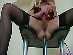 t-girl fuck machine