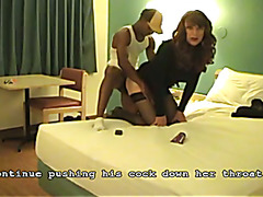 CD Vanessa fucked by a black cock (august 2013)