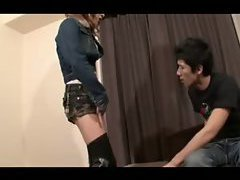 Naughty fun with Asian shemale