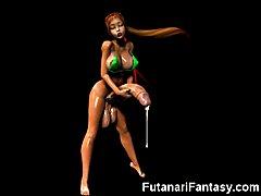 3D Trannies and Futanari Babes!