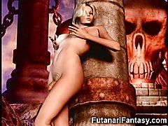 3D Shemales and Futanari Girls!  - 02