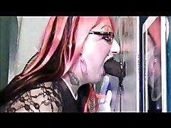 CD TV SUCKS HUGE BBC AT GLORYHOLE