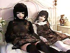kigurumi doll playing