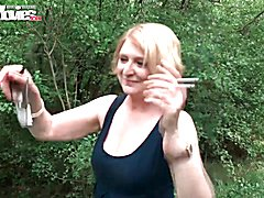 FunMovies German mature housewife fucked outdoor  - clip # 03