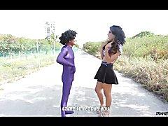 Jade Miranda loves having her TS ass fucked
