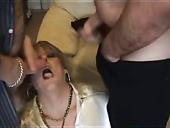Super Slapper UK Mature  Transvestite WHORE! 09