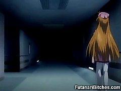 Hentai Futanari Doctor Takes Care of Teen!