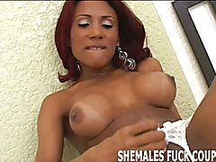 I want us to try tasting some tranny cock