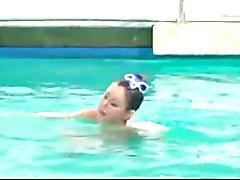 Naked Synchronized Swimming