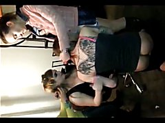 3 sexy shemales get horny BTS whilst preparing for a shoot