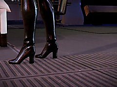 Mass Effect Futanari Anal Tease (3D Animated)