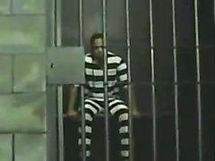 Vintage shemale fun in a prison