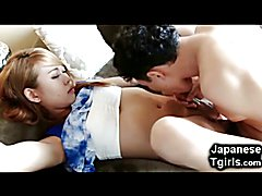 Teenage Japanese Tgirl Got Destroyed!