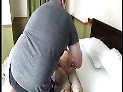 Asian ladyboy fucks white guy