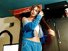 Tgirl redhead teen  - clip # 02