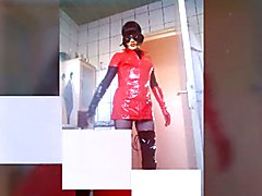 cd in latex  - clip # 02