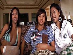Ladyboy Trio  - clip # 02