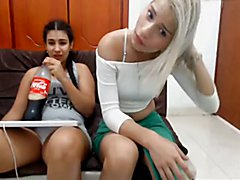 Shemale teens & lesbians - the bright future of Colombia  - clip # 02