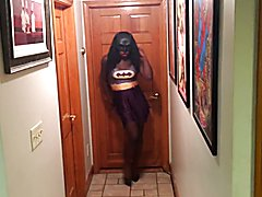 superhero  tranny batgirl part1  - clip # 02