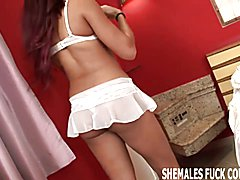 Brazilian shemale Hilda is the hottest tranny around  - clip # 02