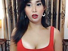 Asian Tranny Self Sucking Webcam Show