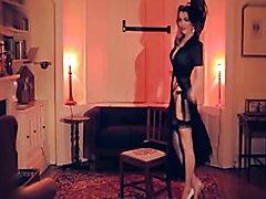 Elegant Lady vs TS Pole Dancer