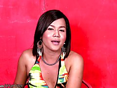 Beautiful short hair femboy strips down and jerks hairy dick  - clip # 02