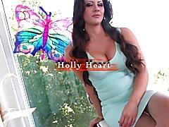 Holly Heart got fucked by TS Tarynxo  - clip # 02